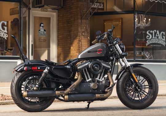 Harley-Davidson Brass Fußrasten mit Styled Verschleißstück  - 50500791