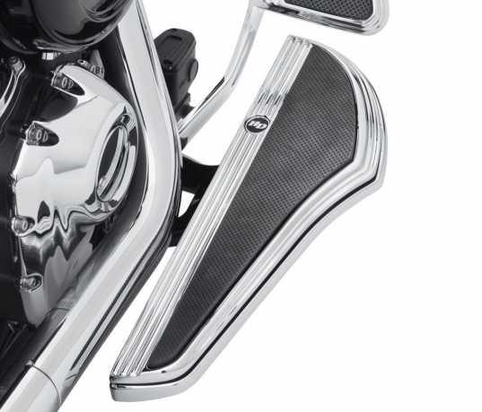 Harley-Davidson Defiance Rider Footboard Kit - Chrome  - 50500797