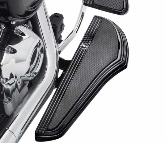 Harley-Davidson Defiance Trittbretter, schwarz  - 50500799