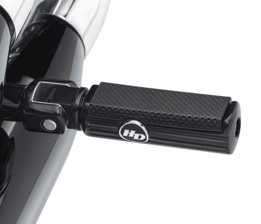 Harley-Davidson Defiance Passenger Footpegs, black  - 50500833