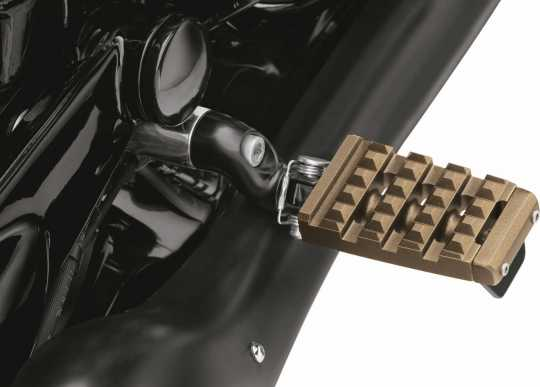 Harley-Davidson Dominion Footpegs - With Removable Wear Peg - Bronze  - 50500949