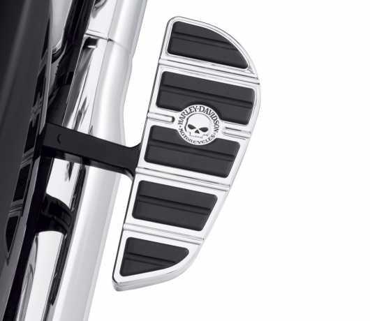 Harley-Davidson Willie G Skull Passenger Footboard Insert Kit  - 50501145