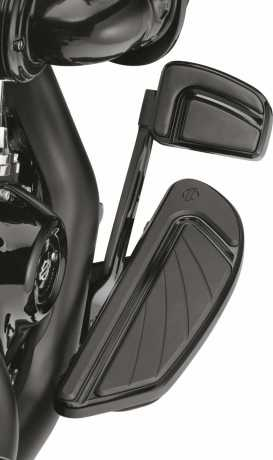 Harley-Davidson Airflow Rider Footboard Kit gloss black  - 50501265