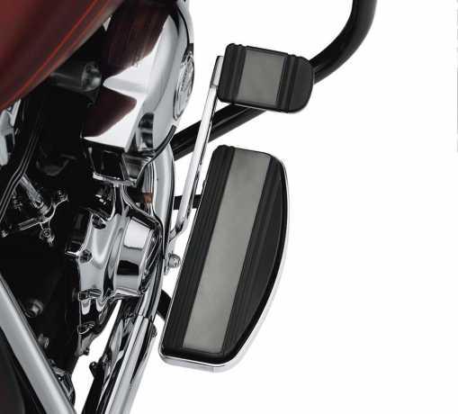 Harley-Davidson Diamond Black Footboard Insert Kit Rider - Traditional Shape  - 50549-08