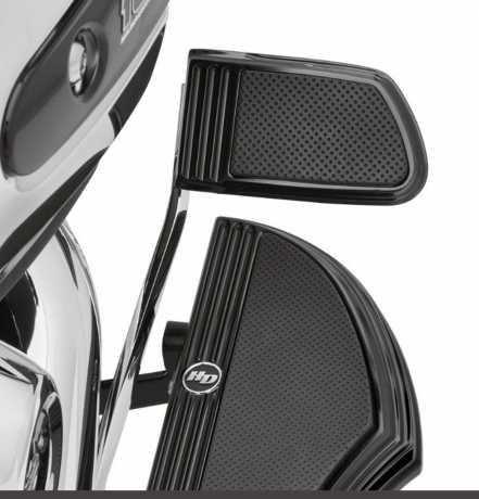 Harley-Davidson Defiance Bremspedalauflage groß, schwarz  - 50600185