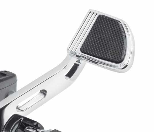 Harley-Davidson Defiance Brake Pedal Pad - Small chrome  - 50600248
