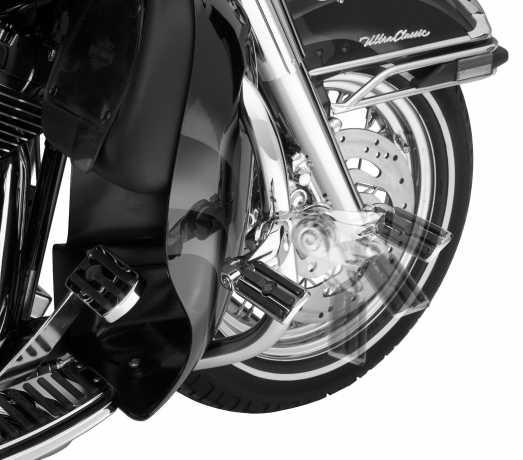 """Harley-Davidson Montagekit für einstellbare Highway Fußrasten 2.5"""" kurz abgewinkelt, chrom  - 50830-07A"""