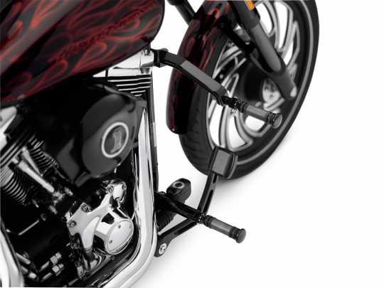 Harley-Davidson Whiskers Adjustable Highway Bar, Gloss Black  - 50865-09