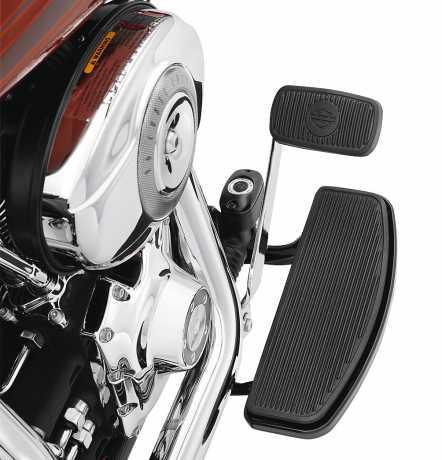 Harley-Davidson Fahrer-Trittbrettwannen Traditionelle Form, schwarz  - 51322-08