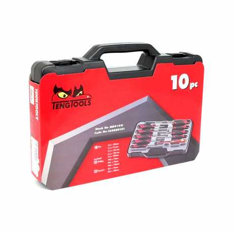 Teng Tools Teng Tools Mega Drive Screwdriver Set  - 514151