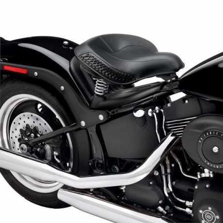 "Harley-Davidson Touring Solo spring Saddle 17""  - 51481-08"