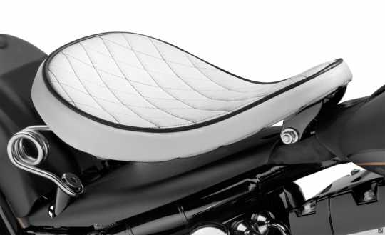Harley-Davidson H-D Solo Spring Saddle White Diamond  - 52000275