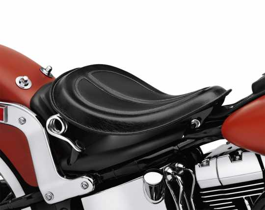 Harley-Davidson Solo Leather Spring Saddle, black  - 52000279