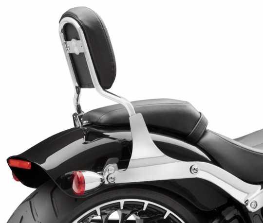 Harley-Davidson Low Mini-Medallion Style Sissy Bar Upright - Chrome  - 52540-09A