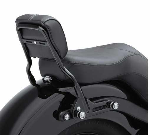 Harley-Davidson Einteilige abnehmbare Sissy Bar Kurz, schwarz  - 52828-11