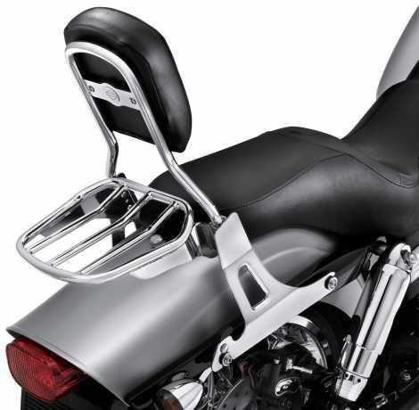 Harley-Davidson Standard Mini-Medallion Style Sissy Bar Upright chrome  - 52877-10