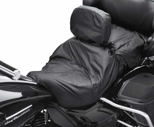 Harley-Davidson Regenschutzplane für Sitz mit Fahrerrückenlehne  - 52952-97