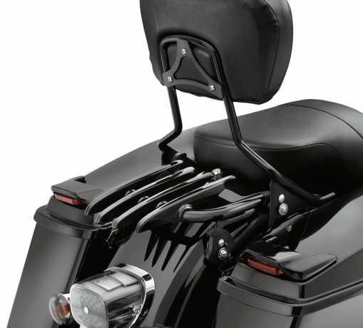Harley-Davidson Stealth Detachable Luggage Rack gloss black  - 53566-09A