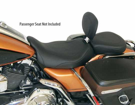 "Mustang Mustang Wide Tripper Solo Seat with Driver Backrest 14"", black  - 537004"