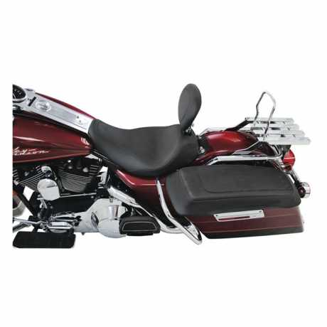 "Mustang Mustang Wide Tripper Solo Seat with backrest 14"", black  - 537020"