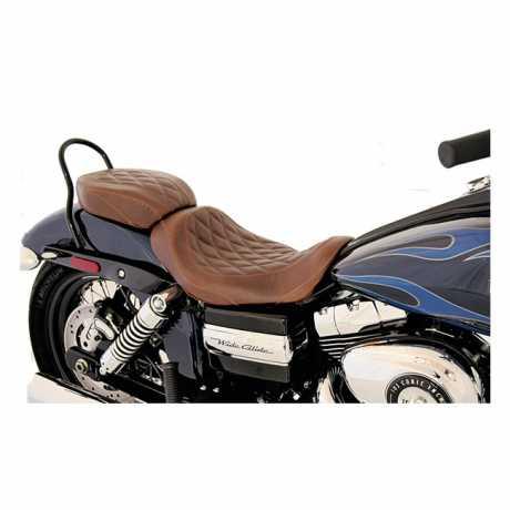 "Mustang Mustang Wide Tripper Solo Seat 13"" Diamond, brown  - 537032"