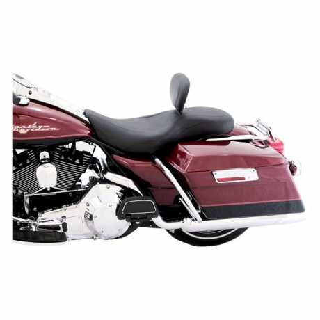 """Mustang Mustang Wide Tripper Seat with Backrest 14"""", black  - 537084"""