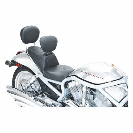 "Mustang Mustang Sport Touring 2-Piece Seat with Backrest 14"", black  - 537230"