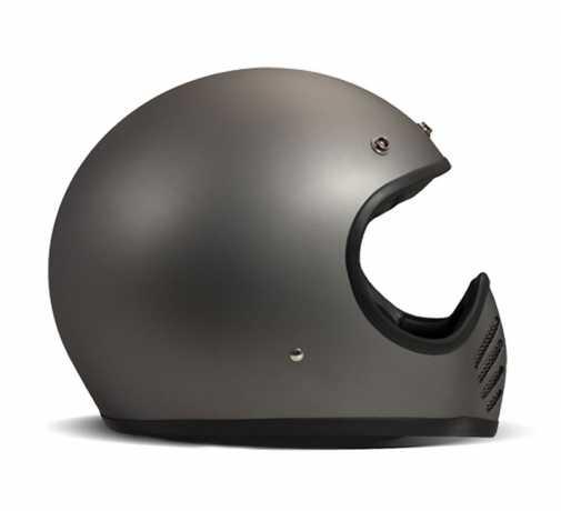 DMD DMD Seventy Five Full Face Helm Metallic Gray ECE  - 539513V