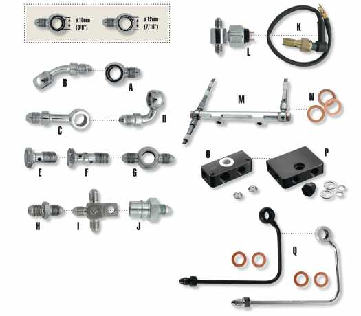 Thunderbike Adapter Fittings  - 54-99-680V