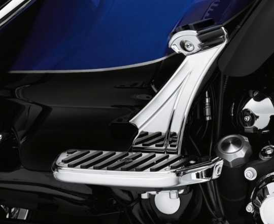 Harley-Davidson Adjustable Auxiliary Passenger Footpeg Mounts  - 54157-10