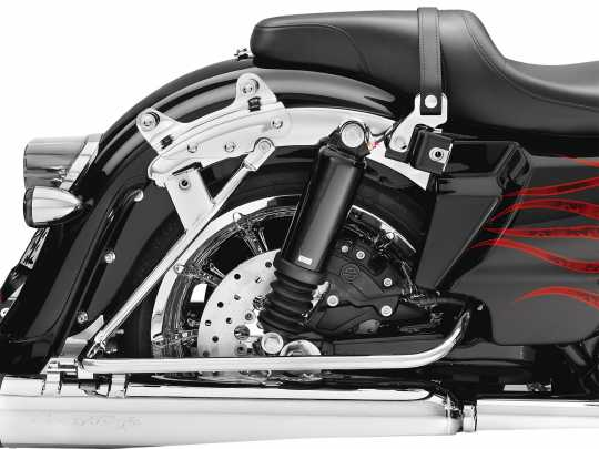 Harley-Davidson 4-Point Docking Hardware Kit chrome  - 54205-09