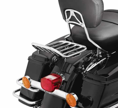 Harley-Davidson Abnehmbarer Gepäckträger für Doppelsitzbank chrom  - 54215-09A