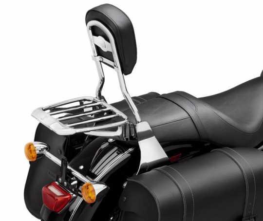 Harley-Davidson Air Foil Premium Luggage Rack with Rubber Grip Strips chrome  - 54290-11