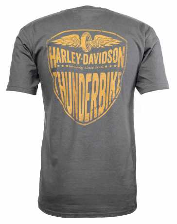 H-D Motorclothes Harley-Davidson T-Shirt Bar & Shield grey L - 5504-CIKQ-L
