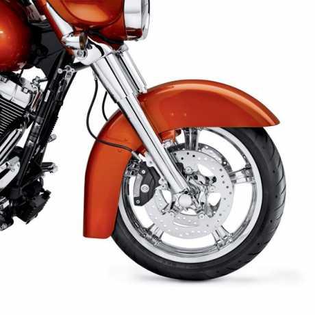 "Harley-Davidson Anarchy Custom Wheel 18"" Front Mirror chrome  - 55066-11"