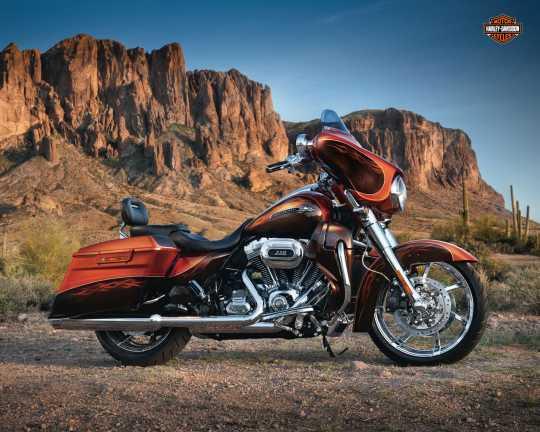 "Harley-Davidson Agitator Custom-Rad 18"" Hinten chrom  - 47951-10"