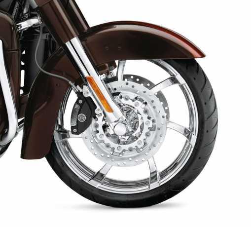 """Harley-Davidson Agitator Custom-Rad 19"""" Vorn chrom  - 55071-11"""
