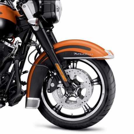"Harley-Davidson Anarchy 5-Spoke 18"" Front Wheel Contrast Chrome  - 55128-11"