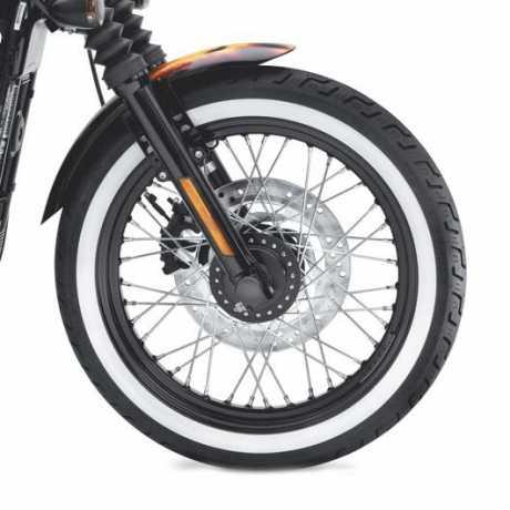 Dunlop Dunlop D401 Front Tire 100/90-19 Wide Whitewall  - 55193-10