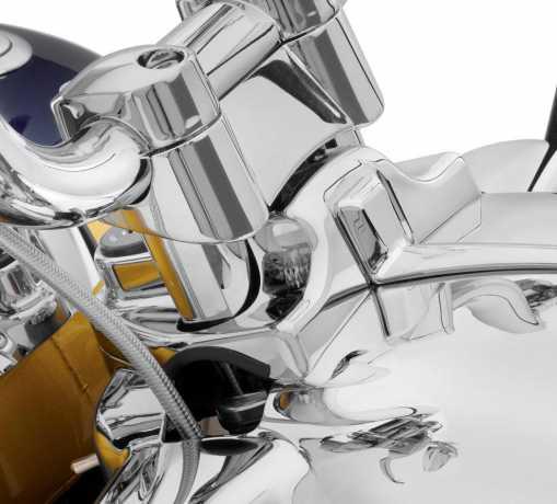 """Harley-Davidson Lenkerverkleidung für 1.25"""" Ape Hanger chrom  - 55800289"""
