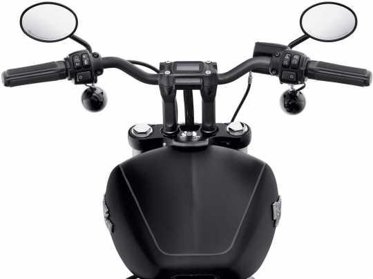 "Harley-Davidson Moto Bar 1"" Alu schwarz  - 55800856"