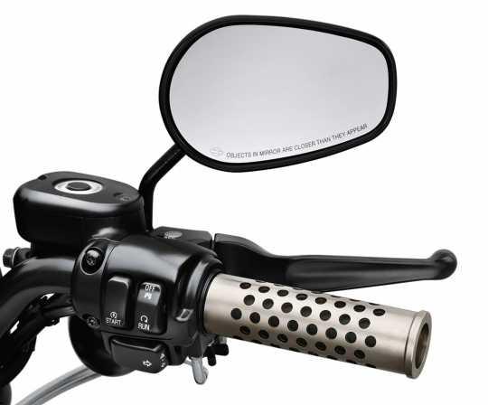 Harley-Davidson Lenkergriffe Silencer  - 55869-10