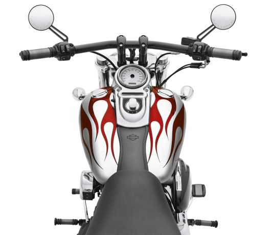 Harley-Davidson H-D Fat Drag Lenker schwarz matt  - 55977-09A