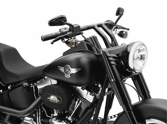 Harley-Davidson H-D Street Slammer Lenker matt schwarz  - 55985-10