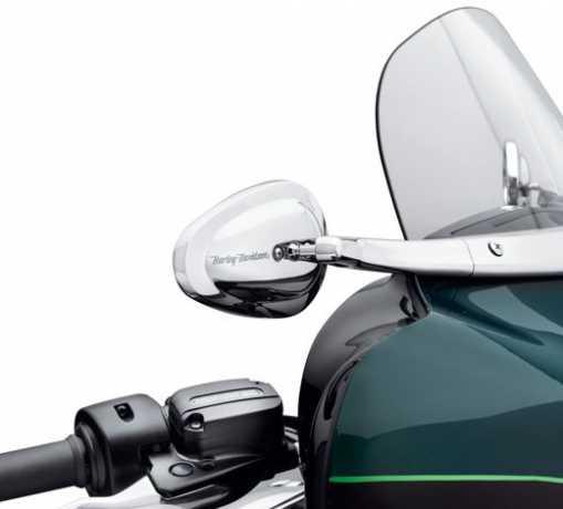 Harley-Davidson Spiegel konisch für Windschutzscheibenverkleidung  - 56000091