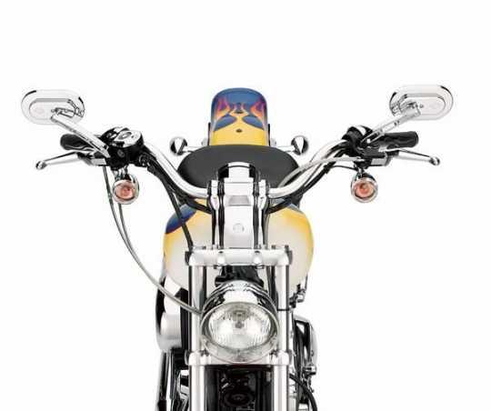 Harley-Davidson Pull Back Handlebar chrome  - 56021-04B