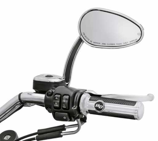 Harley-Davidson Defiance Lenkergriffe chrom  - 56100160
