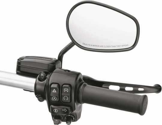 Harley-Davidson Small Diameter Hand Grip Black Rubber  - 56100355