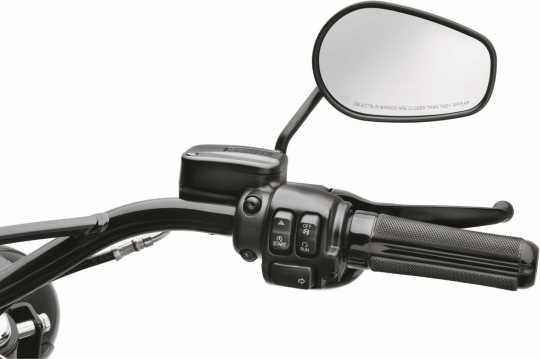 Harley-Davidson Airflow Lenkergriffe schwarz  - 56100356