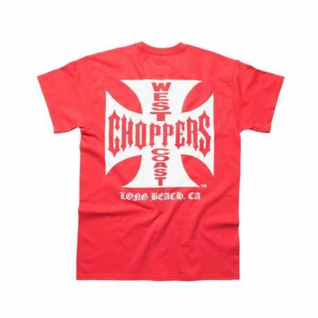 West Coast Choppers West Coast Choppers Og Classic T-Shirt red  - 565973V
